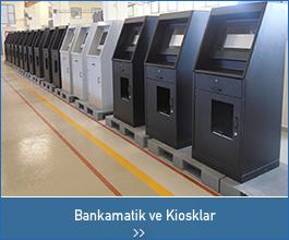 bankamatik kiosklar - endüstriyel tasarımlar
