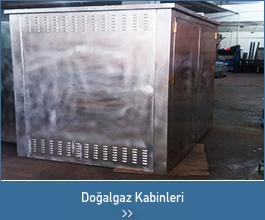 doğalgaz kabin - endüstriyel tasarımlar