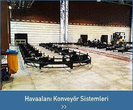 havaalanı konveyör sistemleri - endüstriyel tasarımlar