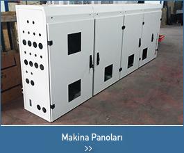 makina kabinleri - endüstriyel tasarımlar