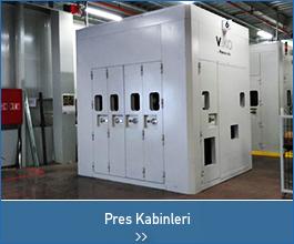 pres kabinleri  - endüstriyel tasarımlar