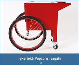 Tekerlekli Popcorn Tezgahı - endüstriyel tasarımlar